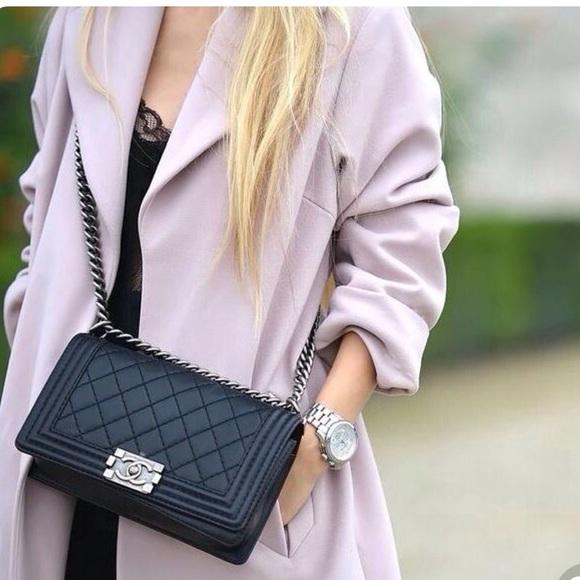 9cf16bf0a209 CHANEL Handbags - Chanel Lambskin Quilted New Medium Flap Bag